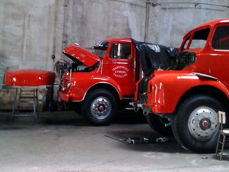 Rotulación vehículo clásico